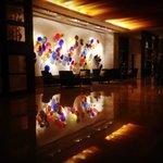 Lobby near reception