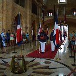 santo domingo changing of the guard