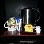 Service bouilloire, café, thé