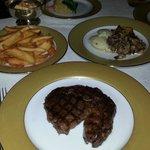 Rib Eye Steak with sides...