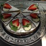 Freshly baked Victoria Sponge!