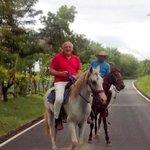 giro a caballo