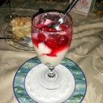 Raspberries with Russian Cream