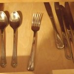 missing cutlery