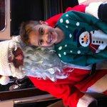 Meeting Santa on Swanage Steam Train