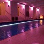 spa, pool area
