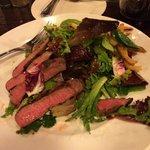 Grilled Flatiron Steak Salad with Frites