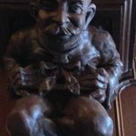 This gargoyle looks like Will Rogers