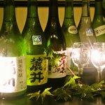 酒田にある7蔵全ての酒蔵のお酒が飲み比べできます。