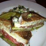 Chicken Saltimbocca Sandwich