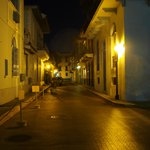 Old City Panama City at 1am