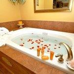 Hideaway Springs honeymoon suite
