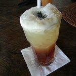 Pineapple mint tea