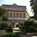The Hotel from the Garden