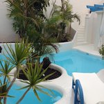 swimming pool in your private garden