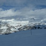 Looking from Aime La Plagne