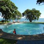 Pileta und Lagune
