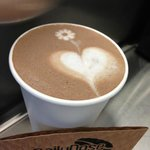 Delicious and beautiful lattes