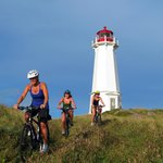 Nova Scotian lighthouses make good side rides.