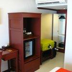 minibar kluis en airco