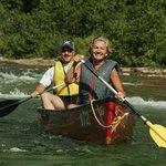 En canot sur la rivière Bonaventure