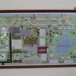 plattegrond van resort