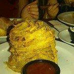 Tonys portion of onion rings !!