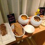 Gluten Free selection at breakfast