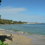 Beach (facing west)