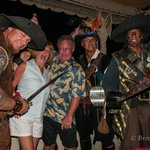 Dining on Seven Mile Pirate Night was great