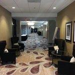 Arligton Hilton Texas lobby