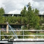 Small lower lakeside cabins & large upper lakeside cabins