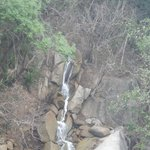 waterfall as you enter