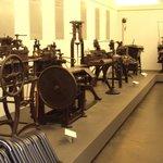 Relíquias de máquinas de prensa