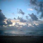 Sunrise from the beach