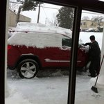 Digging your car out of the snow is part of the service!