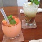 Guava Lime Margarita & Apple Rhubarb Mojito