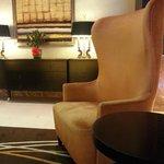 Nice lobby seats