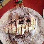 Whipped cream, hot fudge and Oreo crepes. I could go back to Iceland purely for these crepes!