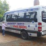 The Luxurious Tour Bus!