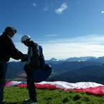 Paraworth Tandem Paragliding Foto