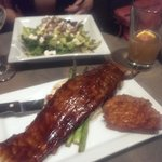 Dinner- Ribs and salad