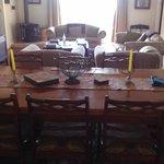 Lounge/Dining Julien's Cottage