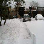 Snow storm clean up