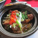 Claypot pork ribs - I didn't want to share with my husband, but I did because it was Valentine's