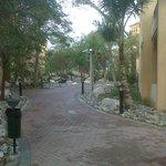 pathway towards hotel