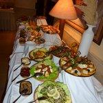 buffet tunisien