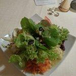 Vorspeißen Salat