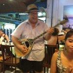The boss singing