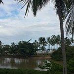 Vista do restaurante do hotel - Rio Maragogi